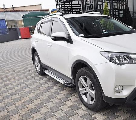 01656081 Stopnie boczne - Toyota Rav4 5D 2013+ (długość: 171 cm)