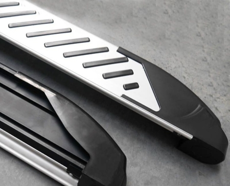 01656292 Stopnie boczne, paski - Hyundai SantaFe 2006-2012 (długość: 182 cm)