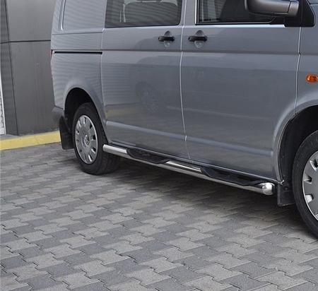 01656388 Orurowanie ze stopniami z zagłębieniami - Opel Vivaro 2014- long 3 stopnie