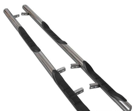 01656395 Orurowanie ze stopniami z zagłębieniami - Volkswagen T5 Long 3 stopnie