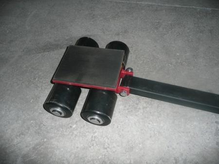 03015122 Zestaw rolek transportowych przód i tył PS-STCM90 (łączny udźwig: 9,0 T)