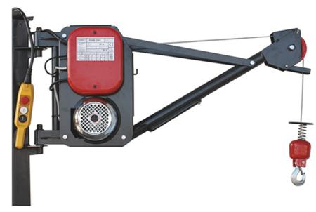 08126409 Wciągarka elektryczna linowa budowlana Camac Minor 2003 (udźwig: 300kg)