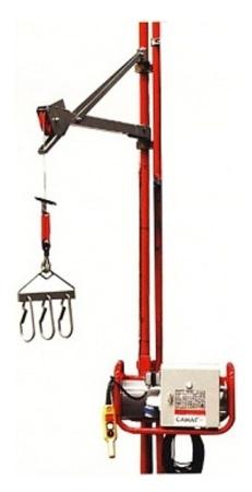 08126411 Wciągarka elektryczna linowa budowlana Camac Minor Millennium Duplo (udźwig: 80 kg)