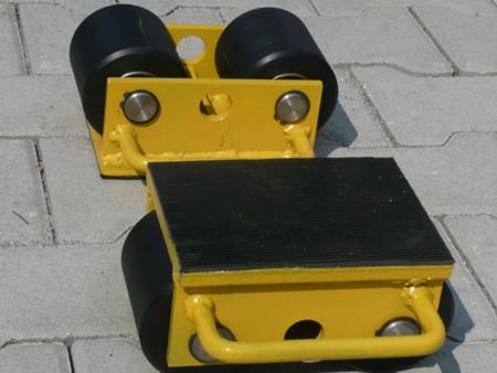 12235587 Wózek stały 2 rolkowy, rolki: 2x kompozyt (nośność: 3 T)