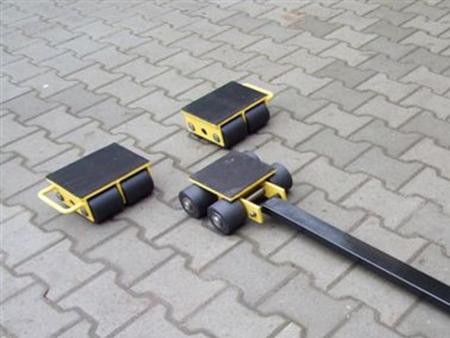 12235619 Zestaw wózków, rolki: 12x kompozyt (nośność: 20 T)