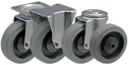 13340622 Wózek platformowy ręczny osiatkowany OS (koła: pełna guma 200 mm, nośność: 600 kg, wymiary: 1200x700x500 mm)