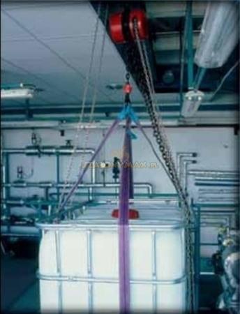 2202708 Wciągnik łańcuchowy z przekładnią planetarną Z100/10t (wysokość podnoszenia: 3m, udźwig: 10 T)