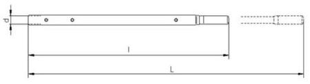 2203108 Wciągnik linowy 30.10/0.8t (długość liny: 40m, udźwig: 0,8 T)