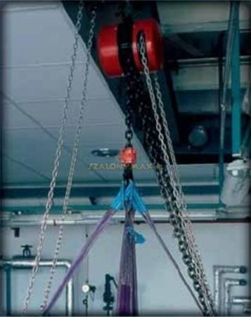 2209151 Wciągnik łańcuchowy z przekładnią planetarną Z100/250kg (wysokość podnoszenia: 6m, udźwig: 250 kg)