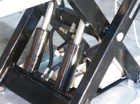3109770 Stół podnośny elektryczny HW1002 (wymiary platformy: 1000x1600mm, udźwig: 1000 kg)