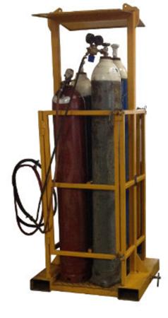 33948675 Kosz na butle z gazem do wózka widłowego miproFork TWG 4 (udźwig: 350 kg, ilość butli: 4)