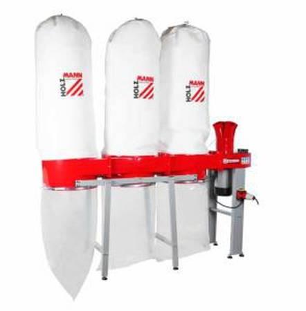 44349896 Odciąg do trocin Holzmann ABS 4560 400V (wydajność: 4560 m3/h, moc: 3,7/5,6 kW)