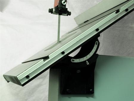 44349943 Piła taśmowa Holzmann HBS 500 230V (wymiary obrabianego przedmiotu: 490/285 mm, wymiary blatu: 770x500 mm)