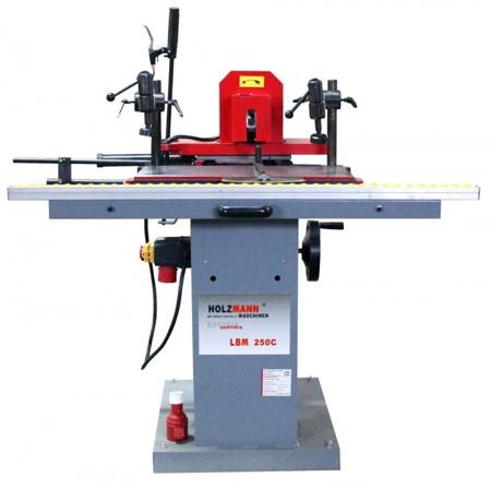 44350001 Wiertarka pozioma Holzmann LBM 250C 230V (max. długość obróbki: 250 mm, wymiary blatu: 600x320 mm)