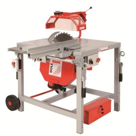 44350033 Piła budowlana-uniwersalna Holzmann TS 400Z (max. średnica tarczy piły: 400 mm, wymiary stołu: 715 x 945 mm)