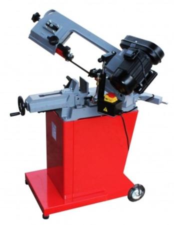 44350083 Piła taśmowa do cięcia metalu Holzmann BS 128PRO 230V (zakres cięcia: -45° bis +60°, prędkość cięcia: 23/34/54 m/min, moc: 825 W)