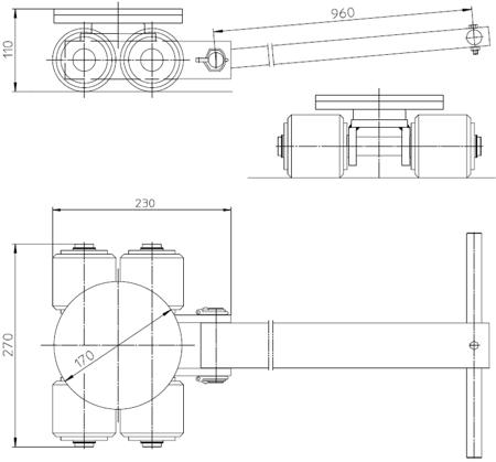 4993989 Podwozie transportowe L3 (nośność: 3T)