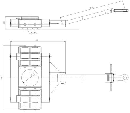 4994001 Podwozie transportowe L30 (nośność: 30T)
