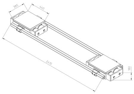 4994004 Podwozie transportowe F60 (nośność: 60T)