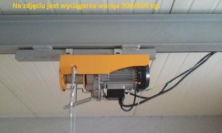 55928531 Wyciągarka linowa elektryczna Industrial 400/800 230V, hamulec automatyczny (udźwig: 400/800 kg)