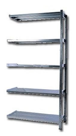 77156827 Regał zaczepowy na chemikalia, 4 półki (wymiary: 2000x1000x400 mm)
