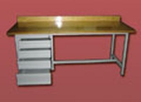 77156852 Stół warsztatowy, 4 szuflady (wymiary: 2000x750x900 mm)