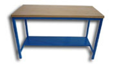 77156886 Stół warsztatowy dwustanowiskowy (wymiary: 2000x750x900 mm)