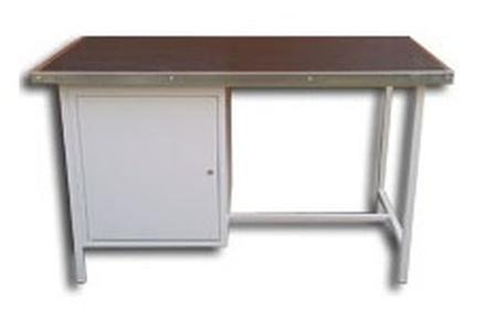 77156889 Stół warsztatowy, 1 szafka (wymiary: 1500x750x900 mm)