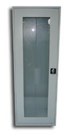 77157064 Szafa biurowa przeszklona, 1 drzwi, 5 półek (wymiary: 1800x700x460 mm)