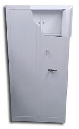 77157068 Szafa biurowa wzmocniona, 3 półki, 2 skarbczyki (wymiary: 1800x900x460 mm)
