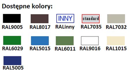 77157084 Szafa biurowa żaluzjowa, 4 półki (wymiary: 1990x1200x435 mm)
