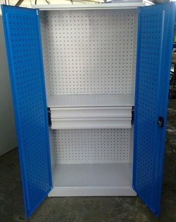 77157232 Szafa narzędziowa, 2 szuflady, 1 półka (wymiary: 2000x1200x500 mm)