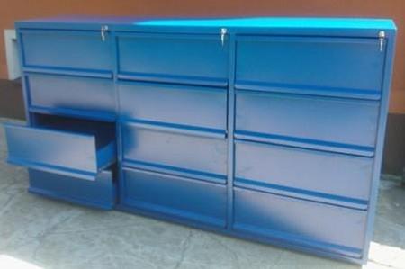 77157255 Szafa narzędziowa, 12 szuflad (wymiary: 1000x1800x500 mm)