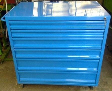 77157360 Wózek narzędziowy, 6 szuflad (wymiary: 1000x1000x600 mm)