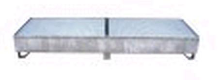 77157426 Wanna ociekowa, ocynkowana (wymiary: 2500x800x300 mm)