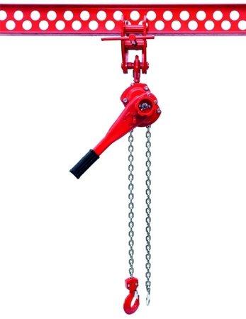 9588184 Wciągnik łańcuchowy dźwigniowy, łańcuch Ogniwowy WŁG-10B (udźwig: 1,0 T)