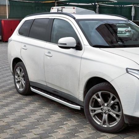 DOSTAWA GRATIS! 01655738 Stopnie boczne - Mitsubishi Outlander 2012- (długość: 171 cm)
