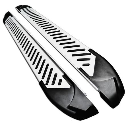 DOSTAWA GRATIS! 01656326 Stopnie boczne, paski - Mercedes ML W166 2012- (długość: 193 cm)