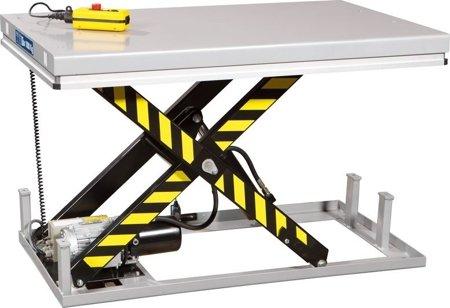 DOSTAWA GRATIS! 3109774 Stół podnośny elektryczny  (wymiary platformy: 1000x1600mm, udźwig: 2000 kg)
