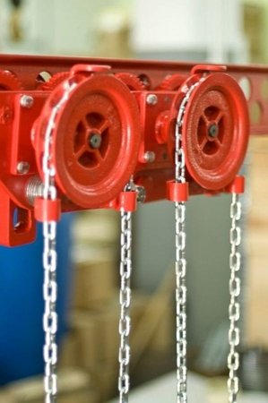 DOSTAWA GRATIS! 9588167 Wózek szynowy do wciągników stacjonarnych (udźwig: 3,2 T)