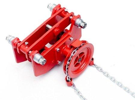 DOSTAWA GRATIS! 9588171 Wózek szynowy do wciągników przejezdnych (udźwig: 3,2 T)