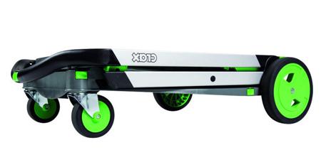 DOSTAWA GRATIS! 99746706 Wózek do transportu, składany + pudełko GermanTech Clax (udźwig: 60 kg)
