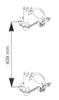 08115190 Uchwyty (kompl. 2szt) do wyciągarki Camac: Minor P-200, P-150, Mini M-100