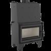 DOSTAWA GRATIS! 30046801 Wkład kominkowy 16kW AQUARIO O16 PW  z płaszczem wodnym, wężownicą (szyba prosta) - spełnia Ekoprojekt